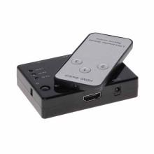 Switch HDMI 1.4b 1080p 3D 3IN - 1OUT + IR Remote controller