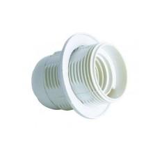 V-TAC Portalampada per lampadine E27 in termoplastica bianco IP20 - sku 8839