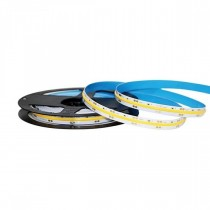 V-TAC VT-421 Striscia LED 24V COB 5M monocolore bianco naturale 4000K CRI>80 IP20 - SKU 2668