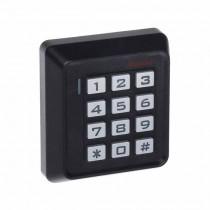 Tastiera serratura a combinazione da parete 12V lettore RFID - Nero