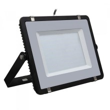 V-TAC PRO VT-206 200W Led Floodlight black slim Chip Samsung smd high lumens cold white 6400K - SKU 779