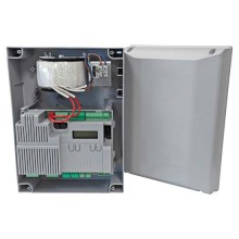 CAME 801QA-0060 ZLX24SA Quadro comando multifunzioni 230V per cancelli a due ante battenti a 24V con display di programmazione