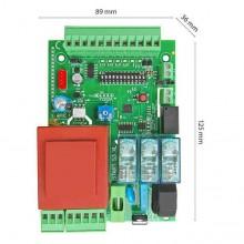 Centralina 230Vac monofase universale per motore cancello scorrevole - basculante Start-S3XL + IBR-N