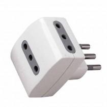 V-TAC Adaptateur multiple électrique 3 prise 10A 2P+T norme italienne - sku 8721