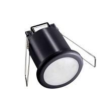 V-TAC VT-8092 Sensore di movimento infrarossi IR + crepuscolare montaggio incasso a soffitto colore nero IP20 - sku 6609