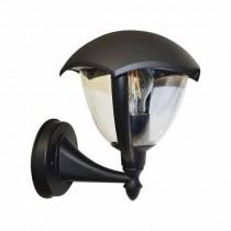 Portalampada lanterna Facing UP alluminio IP44 Nero grafite E27