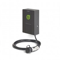 Smart wall box per ricariche di veicoli elettrici con 1 connettore Tipo-2 32A 400Vac 22kW con cavo IP54 IK08 - Scame 205.W17-U0