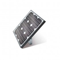 Photovoltaic panel for 24V supply with maximum power 30W