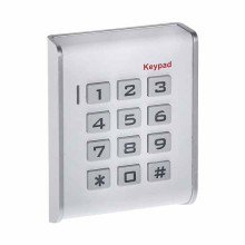 Autonomes Code-Schloss 12V für Innen mit RFID-Lesegerät Weiss