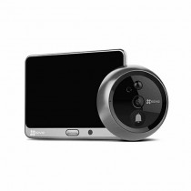 "EZVIZ DP1 Video-Türklingeln smart Doorbell WiFi kamera hd 720p Farb-Touchscreen LCD 4.3"" motion detection audio slot sd p2p"