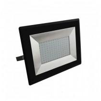 V-TAC VT-40101 100W LED floodlight ultra slim e-series warm white 3000K black body IP65 - SKU 5964