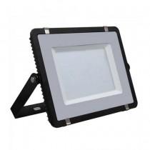 V-TAC PRO VT-200 Faro led 200W slim alluminio nero chip Samsung SMD bianco freddo 6400K - SKU 419
