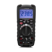 Industrial ultra-resistant digital multimeter IP67 TRMS VFD CAT IV 600V, CAT III 1000V Uniks TITANIUMX