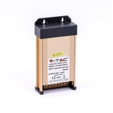 V-TAC VT-26400 Alimentation LED SLIM 400W DC 24V 16.6A 3 sorties corps en métal IP45 - SKU 3265