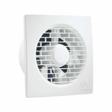 """Ventilateur de salle de bain axial avec volet arrière intégré Vortice Punto Filo MF 100/4"""" - sku 11123"""