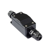 V-TAC waterproof terminal connector PVC black body IP65 - SKU 11136