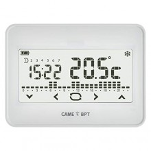 BPT TH/550 WH Thermostat programmable à écran tactile mural avec piles - 845AA-0010