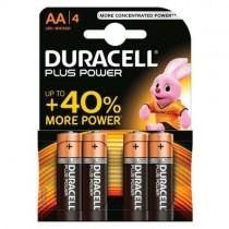 Pile Duracell Plus Power Batterie Alcaline Stilo AA 1.5V Confezione da 4 Pz