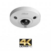 Telecamera Antivandalica Dome IP ULTRA HD 4K Dahua 12Mpx Fisheye Panoramic 1.98mm 180° PoE IPC-EBW81230