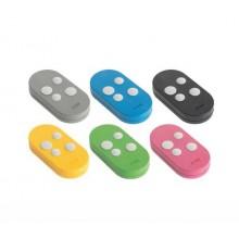 CAME Kit 6 télécommandes colorées - Double fréquence 433 et 868 MHZ Rolling Code TOPD4RXM