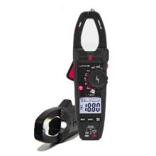 Amperometrische Klemme TRMS-Messungen mit Phasendetektor und Taschenlampe Uniks C120