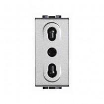 NT4180 Bticino Living Light 2P + T 10 / 16A 250V TECH plug