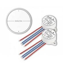 Akku Free Wireless V-TAC TWO Gang Schalter Set Weiß VT-542