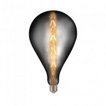 V-Tac VT-2159 Lampada bulb 8W E27 xl G165 filamento lineare vetro ambrato oscurato 2200K Dimmable – sku 45651