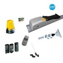 Complete system for garage doors up to 9mq 24V Emega40 U5200