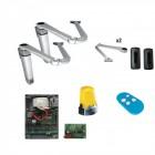 Kit automazione battente CAME STYLO-RME per ante da 1,8mt  reversibile ZLXM 24V braccio snodato 8K01MB-016