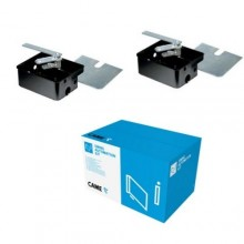 KIT 001U1985 CAME 2 Inground Kataphorese Untertageschachtelbox FROGCF / FROG-CFN KIT 2PZ