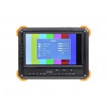 "Tester TVCC AHD/HDCVI/HDTVI/PAL 7"" portatile CCTV power bank camera telecamera"