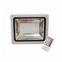 Faro LED SMD esterno IP65 con telecomando RF - Mod. VT-4732 SKU 5755 - Multicolor RGB