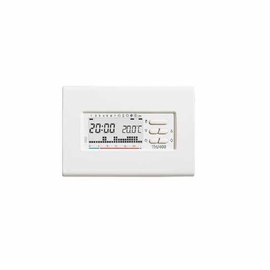 Cronotermostato digitale da parete settimanale bianco for Bpt thermoprogram th 24 prezzo