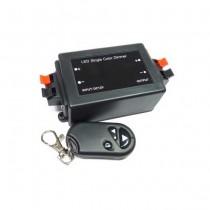 V-TAC VT-2402 Dimmer per strisce LED con telecomando 3 tasti regolazione luminosità - SKU 3300