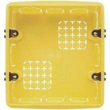 Boîtier encastrable en résine 6 modules de la série civile Bticino 506E