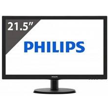 """LED Monitor Philips SmartControl Lite VGA 21.5"""" 223V5LSB2"""