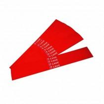 Bandes rouges réfléchissantes adhésives pour lisses 20 pc