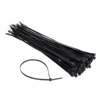 Attache-cable pour câblage 4.2x300mm Noir 100pcs
