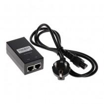 ALIMENTATORE 220V  VIA DOPPINO 48V DC 24W  per telecamere IP con tecnologia POE