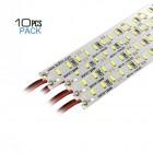 Set strisce LED rigide V-TAC SMD4014 12V 18W 1.700LM Confezione da 10pz  VT-4014 – SKU 2539 Bianco Naturale 4000K