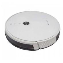 V-TAC VT-5555 Aspirapolvere robot lavapavimenti pulitura con acqua e base di ricarica corpo bianco gestione remota da smartphone Google & Alexa - sku 8649