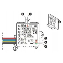 CAME RSLV001 modulo slave per gestione automazione ( da abbinare a RETH001)