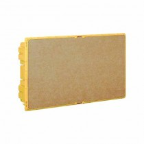 Recessed box for Line Space Yellow 18 DIN modules Bticino F315S18