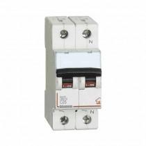 Interrupteur magnétothermique 1P + NC 25A - 4,5kA - 2M Bticino FC810NC25