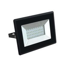 V-TAC VT-4031 30W LED flutlicht ultra slim e-series neutralweiß 4000K schwarz körper IP65 - SKU 5953