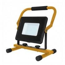 V-TAC VT-4230 30W LED SMD Floodlight with Stand And EU Plug Schuko 3MT Black Body cold white 6400K - SKU 5928