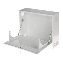 Hängender Rack-Kasten 3U 350mm stahl Weiß Körper für cctv DVR / NVR