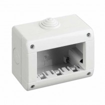 Idrobox 3 horizontal modules Waterproof IP40 - Bticino 25403