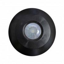PIR Infrared 360° Motion Flat Sensor Ceiling Mount Body IP20  Mod. VT-8027 - SKU  5087 - Black